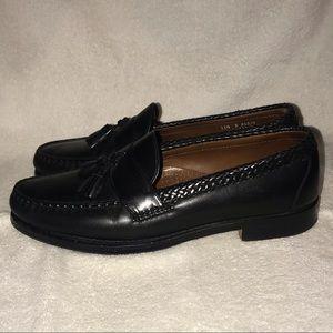 Brooks Brothers Black Tassel Penny Loafer